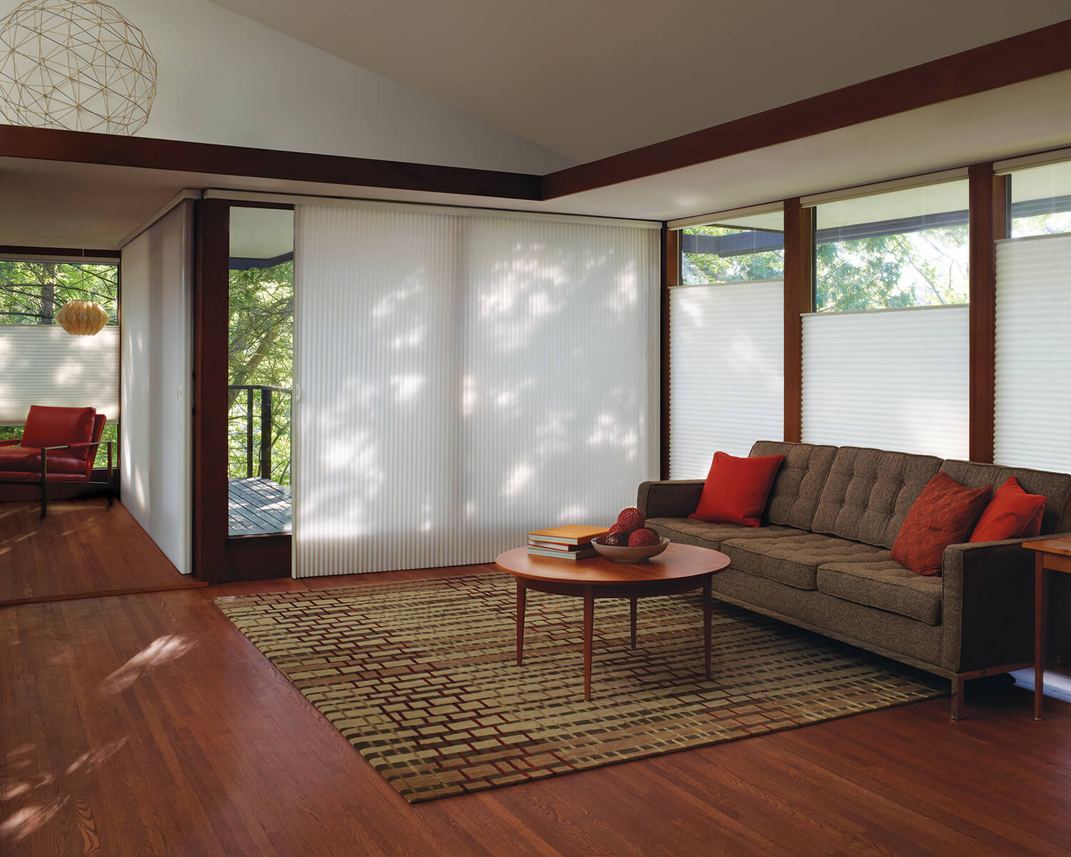 Images of Cellular Shades For Sliding Doors - Woonv.com - Handle idea