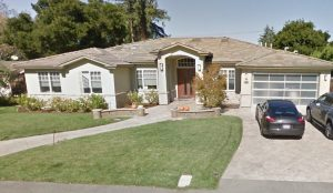 This home sought our services as a window treatment store in Los Altos - The Yardstick