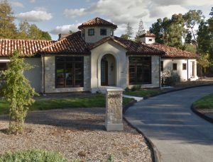 This home is where we installed some custom drapery in Los Altos