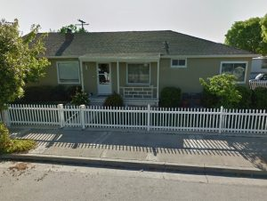 This home is where we helped the homeowners select custom drapery in Sunnyvale - The Yardstick