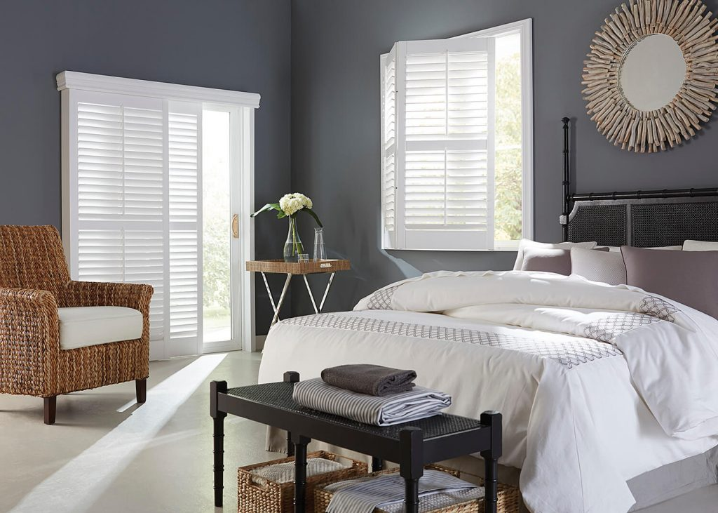 interior shutters bedroom san jose