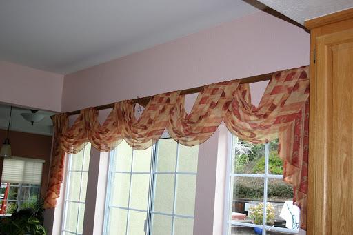 Window Scarf Drapes